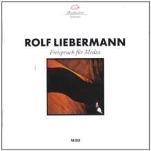 Rolf Liebermann (1910-1999): Freispruch für Medea, CD