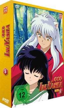 InuYasha Box 5 (Episoden 105-138), 5 DVDs