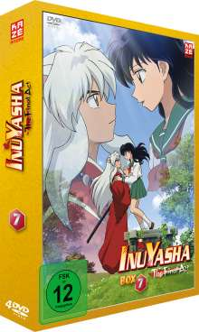 InuYasha Box 7 (Final Arc: Episoden 1-26), 4 DVDs