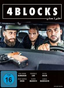 4 Blocks Staffel 1, 2 DVDs