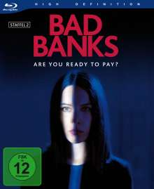 Bad Banks Staffel 2 (Blu-ray), 2 Blu-ray Discs