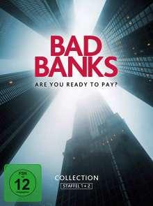 Bad Banks Staffel 1 & 2, 4 DVDs