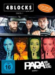 4 Blocks / Para - Wir sind King (Bundle Staffel 1), 4 DVDs