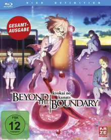 Beyond the Boundary (Gesamtausgabe) (Blu-ray), 4 Blu-ray Discs