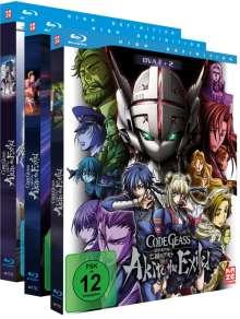 Code Geass - OVA 1-5 (Gesamtausgabe) (Blu-ray), 3 Blu-ray Discs