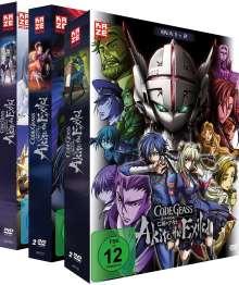 Code Geass - OVA 1-5 (Gesamtausgabe), 3 DVDs