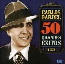 Carlos Gardel (1890-1935): 50 Grandes Exitos, 2 CDs