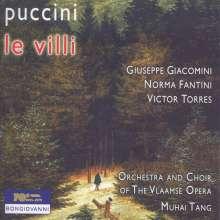 Giacomo Puccini (1858-1924): Le Villi, CD