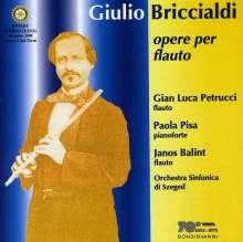 Giulio Briccialdi (1818-1881): Konzert in A op.130 für 2 Flöten & Orchester, CD
