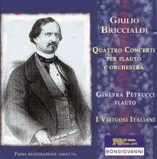 Giulio Briccialdi (1818-1881): Flötenkonzerte Nr.1-4, CD