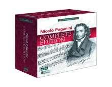 Niccolo Paganini (1782-1840): Nicolo Paganini - Complete Edition, 40 CDs