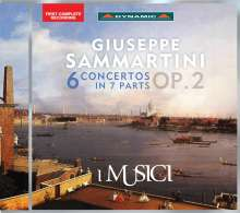 Giuseppe Sammartini (1695-1750): Concerti op.2 Nr.1-6, CD