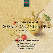 Antonio Veracini (1669-1733): Sonate da Camera a Violino solo op.2 Nr.1-10, CD