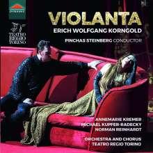 Erich Wolfgang Korngold (1897-1957): Violanta, CD