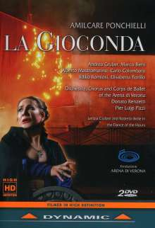 Amilcare Ponchielli (1834-1886): La Gioconda, 2 DVDs