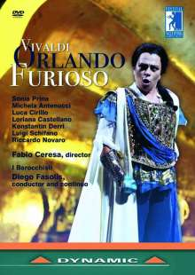 Antonio Vivaldi (1678-1741): Orlando Furioso RV 728, 2 DVDs