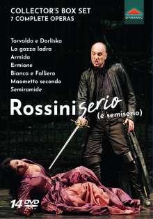 Gioacchino Rossini (1792-1868): 7 Complete Operas - Rossini serio (e semiserio), 14 DVDs