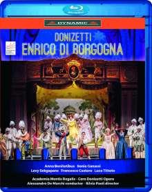 Gaetano Donizetti (1797-1848): Enrico di Borgogna, Blu-ray Disc