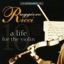 Ruggiero Ricci - A Life for the Violin, 10 CDs