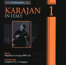 Karajan in Italy Vol.1, CD