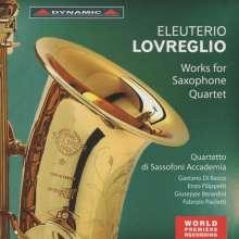 Eleuterio Lovreglio (1900-1972): Werke für Saxophon-Quartett, CD
