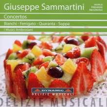 Giuseppe Sammartini (1695-1750): Concerti, CD