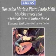 Domenico Maria Melli (1572-1610): 15 Lautenlieder, CD