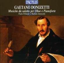 Gaetano Donizetti (1797-1848): Musik für Oboe & Klavier, CD