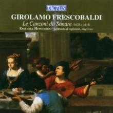 Girolamo Frescobaldi (1583-1643): Canzoni da Sonare, CD