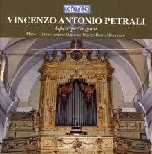 Vincenzo Antonio Petrali (1830-1889): Orgelwerke, CD
