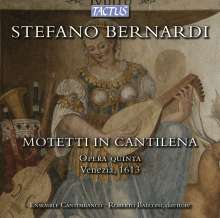 Stefano Bernardi (1577-1637): Motetti in Cantilena, CD