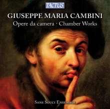 Giuseppe Maria Cambini (1746-1825): Quartette für Cembalo,Violine,Oboe & Cello Nr.1-5, CD