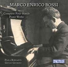 Marco Enrico Bossi (1861-1925): Sämtliche Werke für Klavier 4-händig, CD