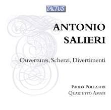 Antonio Salieri (1750-1825): Concertino für Oboe & Streichquartett, CD