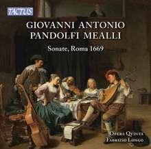 Giovanni Antonio Pandolfi Mealli (1629-1679): Sonaten (Rom 1669), CD