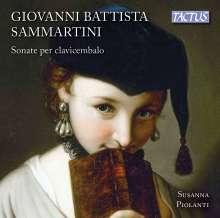 Giovanni Battista Sammartini (1701-1775): Cembalosonaten, CD