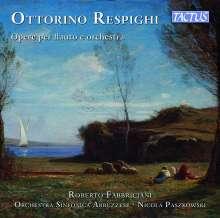 Ottorino Respighi (1879-1936): Werke für Flöte & Orchester, CD