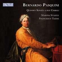 Bernardo Pasquini (1637-1710): Sonaten Nr.1-15 für 2 Cembali, CD