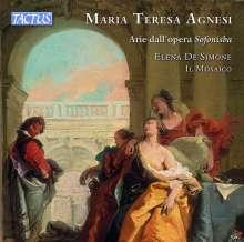 "Maria Teresa Agnesi (1720-1795): Arie dall'Opera ""Sofonisba"", CD"