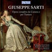 Giuseppe Sarti (1729-1802): Kammermusik & Werke für Tasteninstrumente, 6 CDs