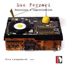 Luc Ferrari (1929-2005): Exercises d'improvisation, CD