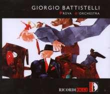 Giorgio Battistelli (geb. 1953): Prova d'Orchestra, CD