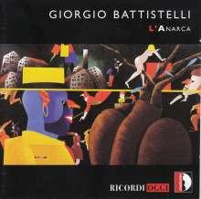 Giorgio Battistelli (geb. 1953): Anarca für Stimme & Orchester, CD