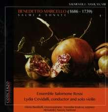 Benedetto Marcello (1686-1739): Salmi & Sonate, CD