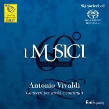 Antonio Vivaldi (1678-1741): Concerti für Streicher RV 114,119,123,127,151,156,157,158,163, CD