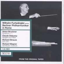 Wilhelm Furtwängler & die Berliner Philharmoniker in Rom, 2 CDs