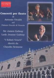 Antonio Vivaldi (1678-1741): Flötenkonzerte op.10 Nr.1-6, DVD