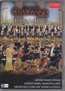 Teatro La Fenice Orchestra - Concerto di Capodanno 2018-19, DVD