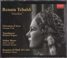 Renata Tebaldi - Insolita, 6 CDs