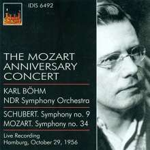 Karl Böhm  - The Mozart Anniversary Concert Hamburg 1956, CD